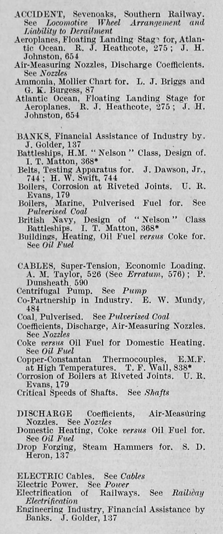 Engineering 1927 jul dec index letters to the editor pooptronica