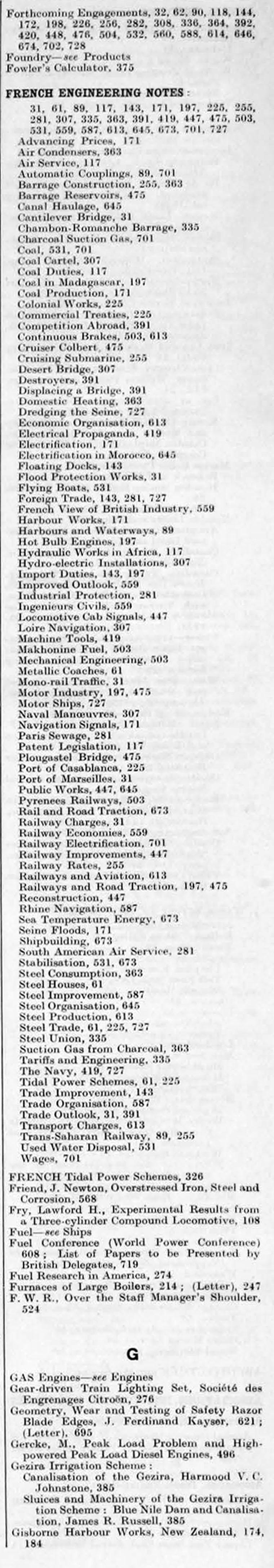 The engineer 1928 jan jun index fandeluxe Images