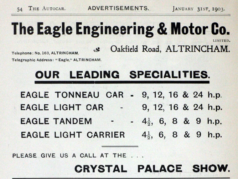 Eagle Engineering and Motor Co
