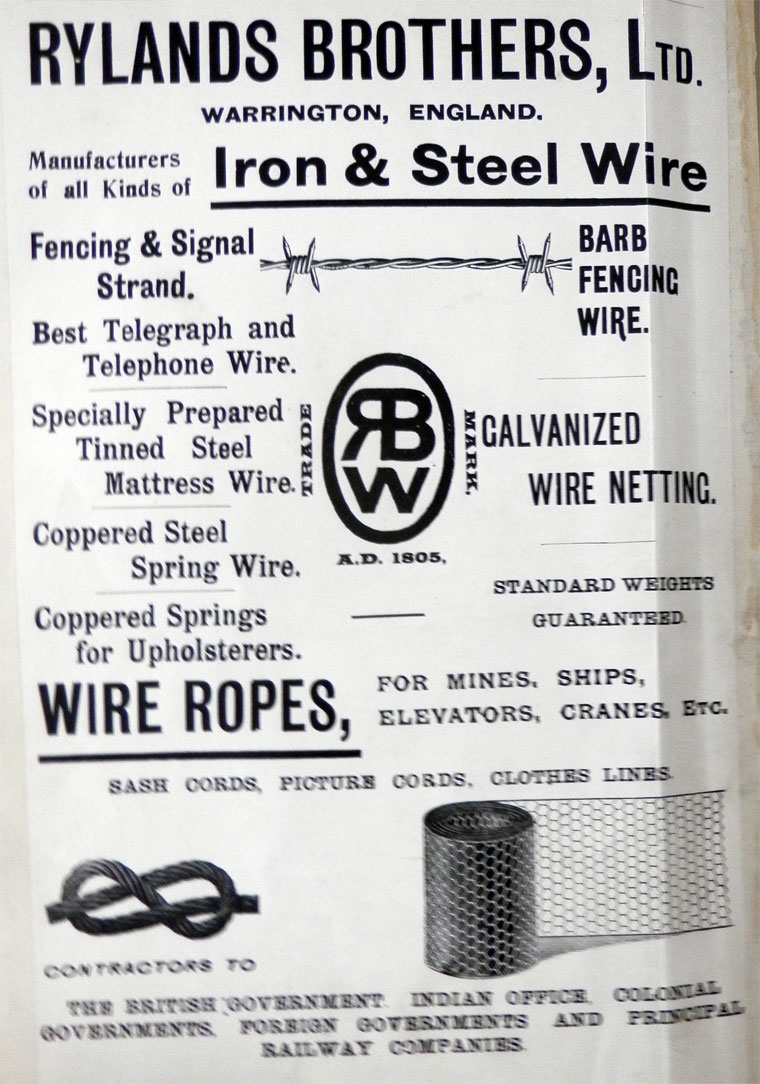 Rylands Brothers Uk Telephone Wiring