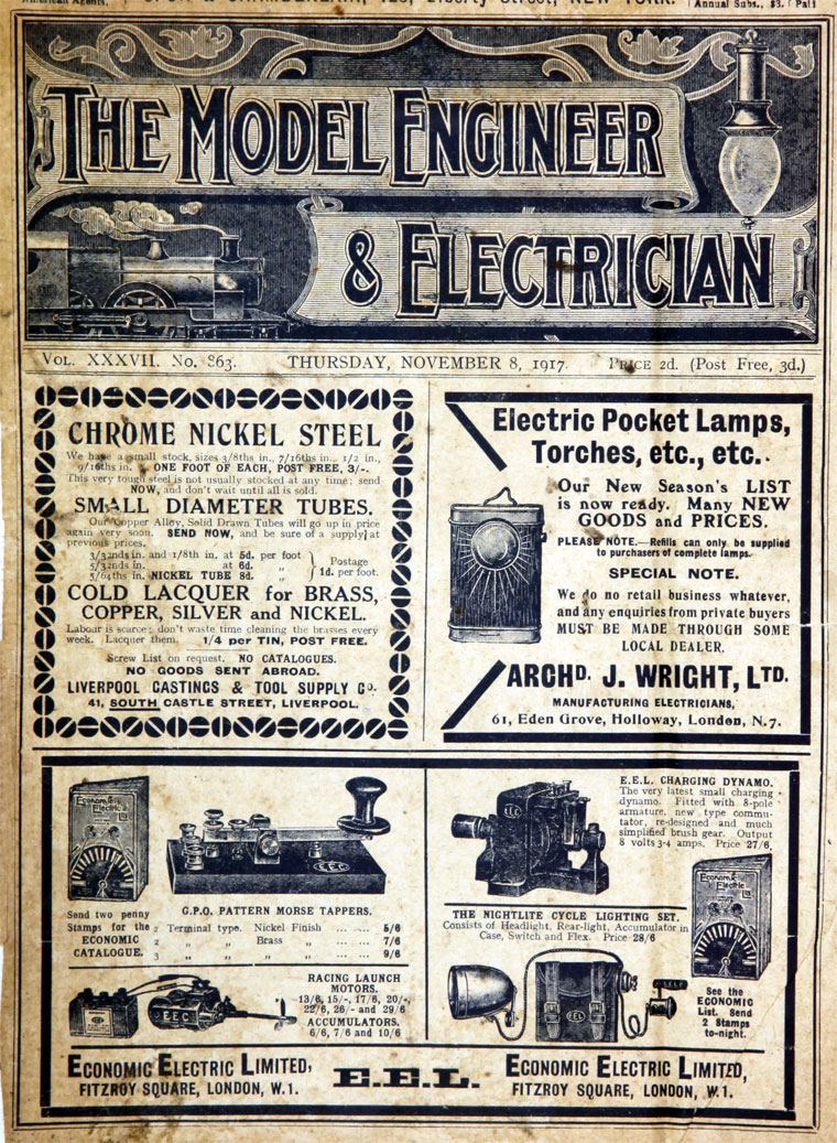 Model Engineer and Electrician