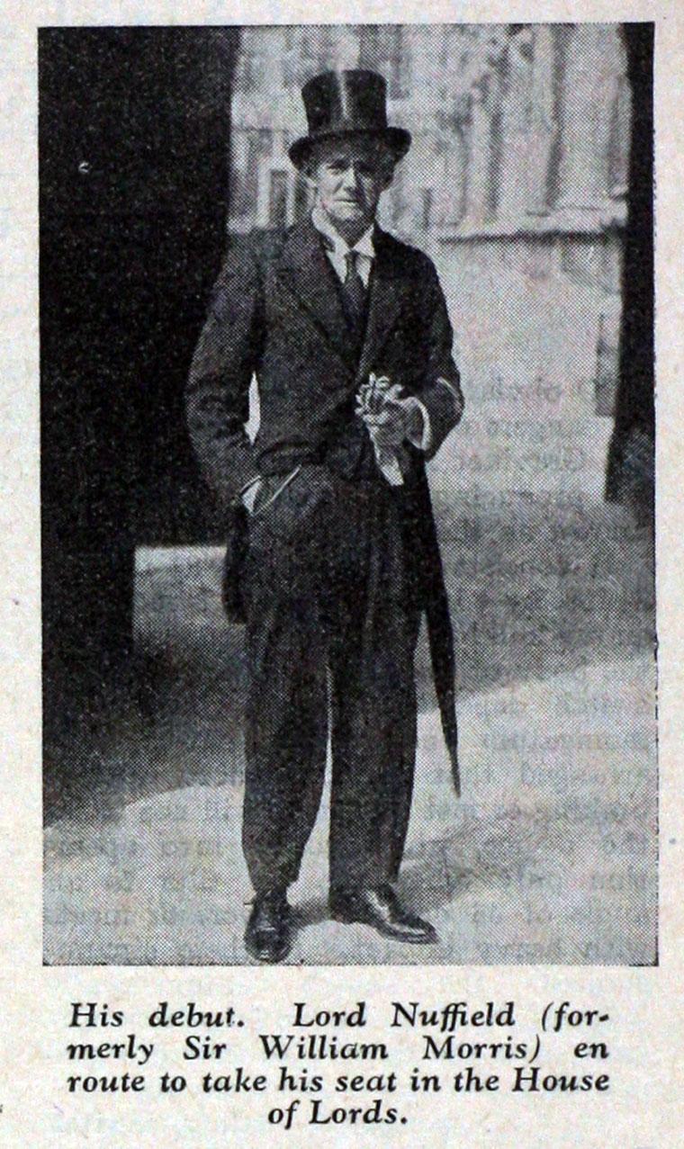 Frederick Motor Company >> William Richard Morris - Graces Guide