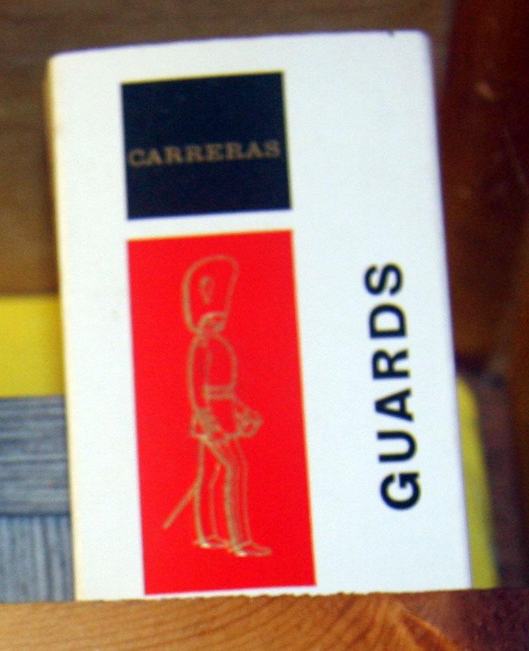 Guards Cigarettes - Graces Guide