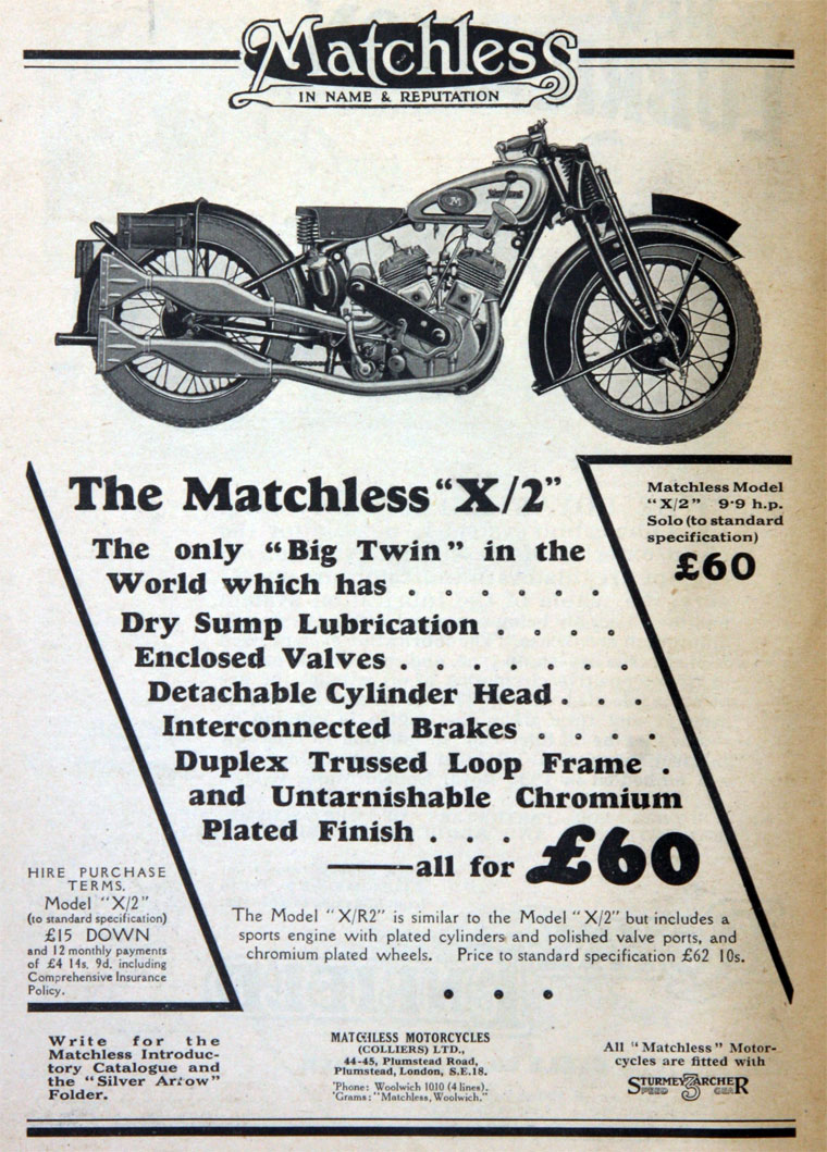 Matchless g 11 csr for sale 1958 on car and classic uk c544589 - January 1930