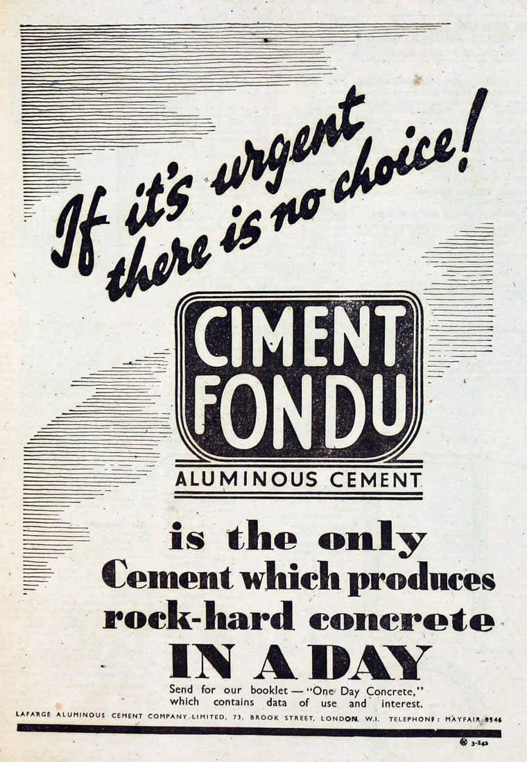 ciment fondu lafarge good prevnext with ciment fondu lafarge cool kerneos at european coatings. Black Bedroom Furniture Sets. Home Design Ideas