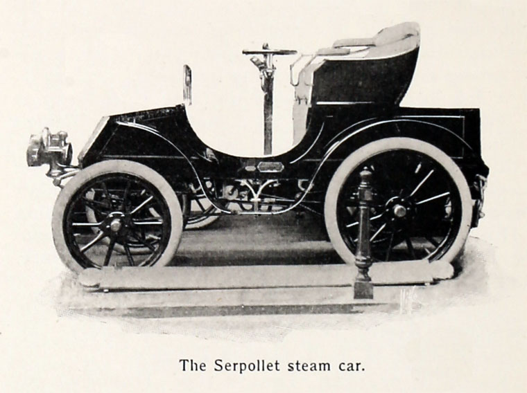 Land Speed Record >> Leon Serpollet - Graces Guide