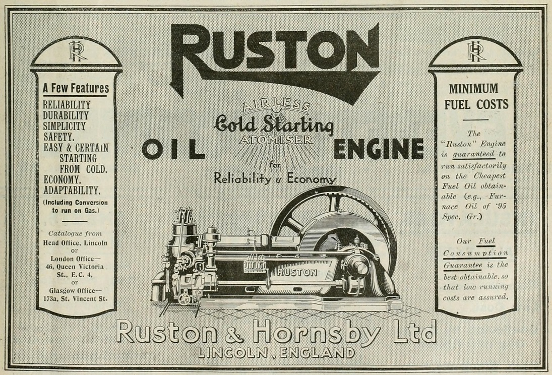 Ruston hornsby engine dating sim