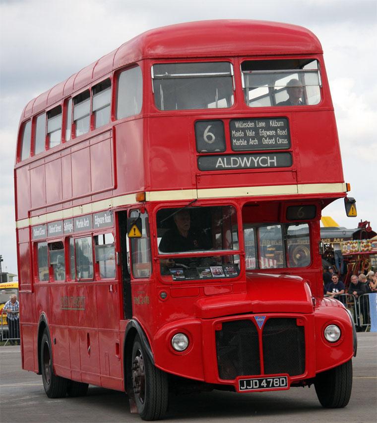 1934 AEC Regent I bus - STL441 - London Bus Museum