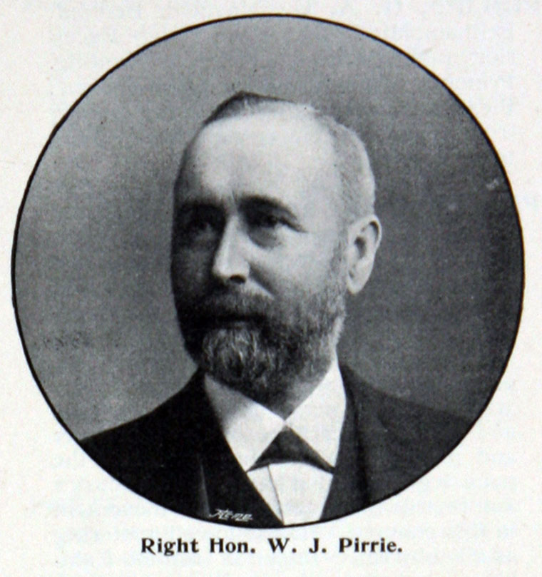 william james pirrie