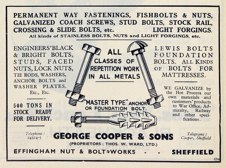 George Cooper and Sons - Graces Guide
