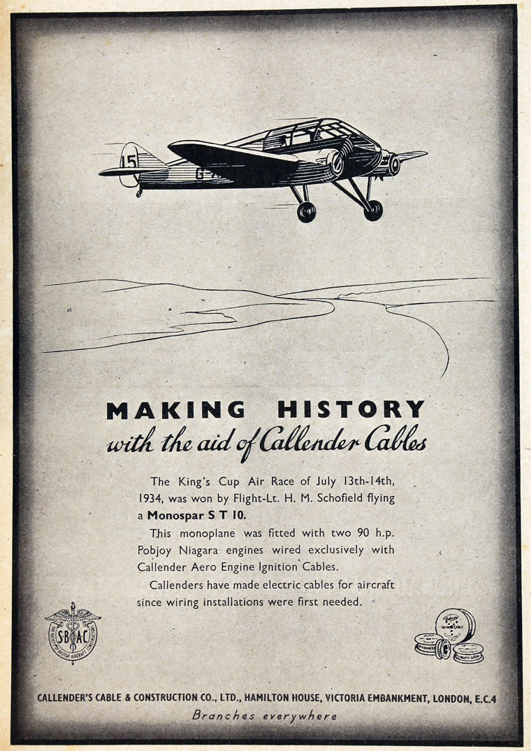 Callenders Cable And Construction Co Old Electrical Wiring Http Wwwhouseholdelectricscouk Page May 1943