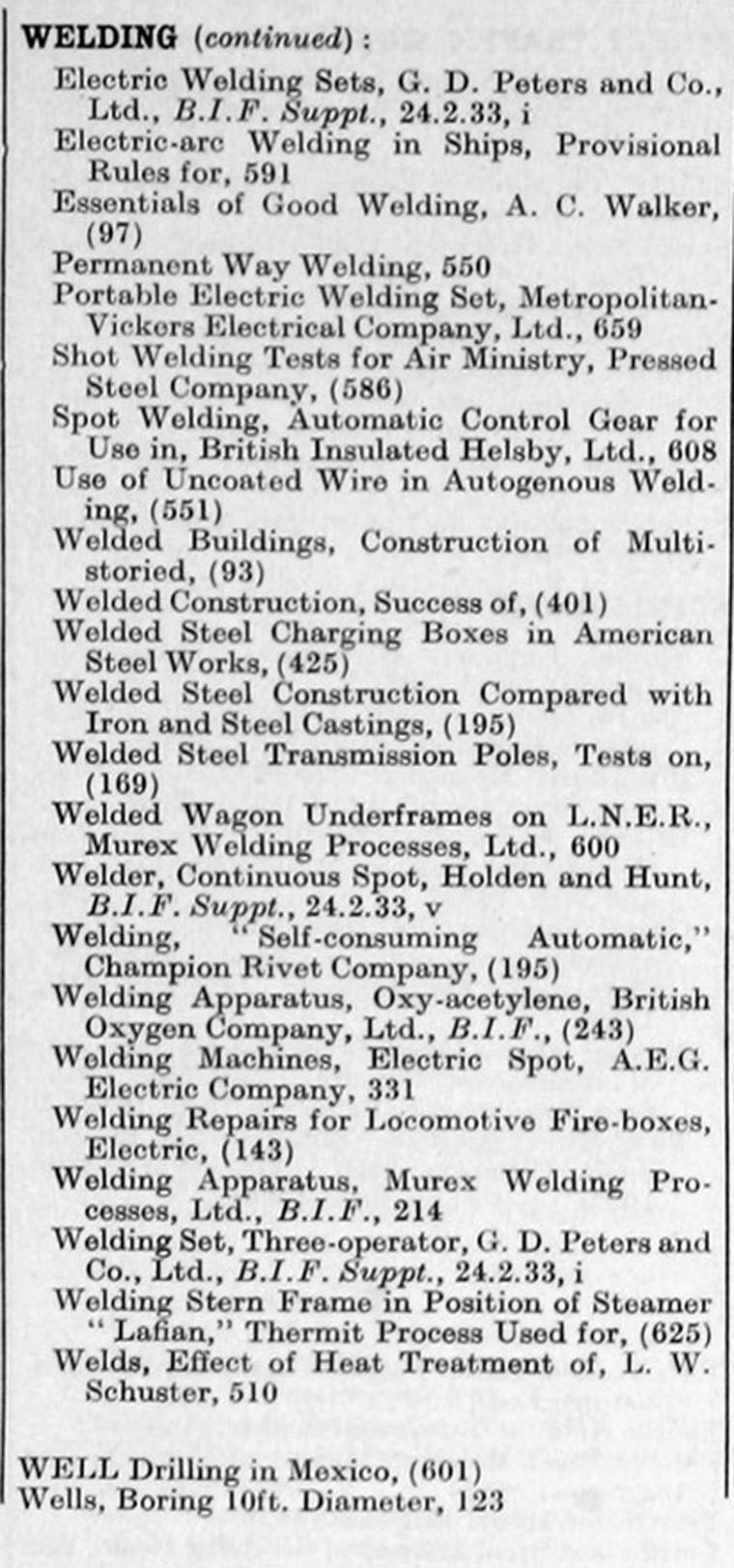 the engineer 1933 jan jun index graces guide the engineer 1933 jan jun index