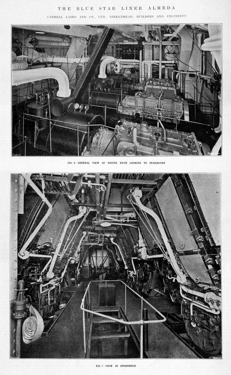 Cargo Ship Engine Room: TSS Almeda Star