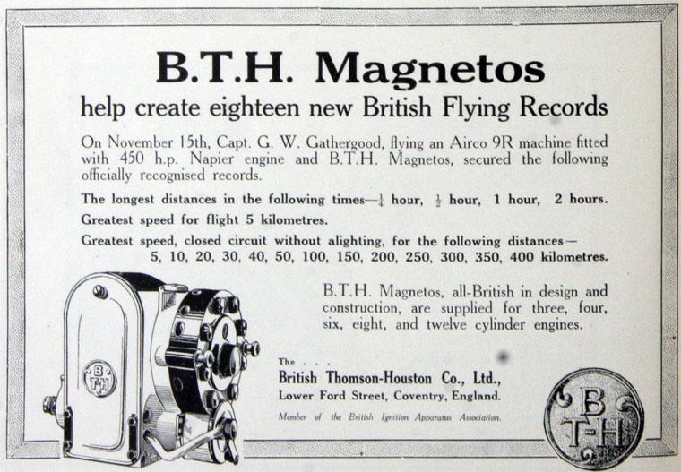 BTH: Magnetos - Graces Guide