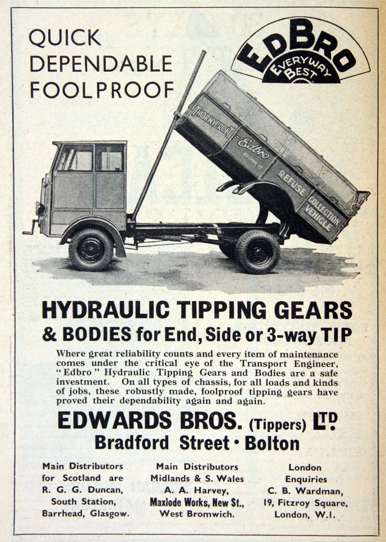 Edwards Brothers Tippers Graces Guide