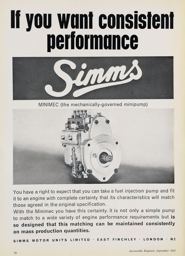 Simms Motor Units - Graces Guide