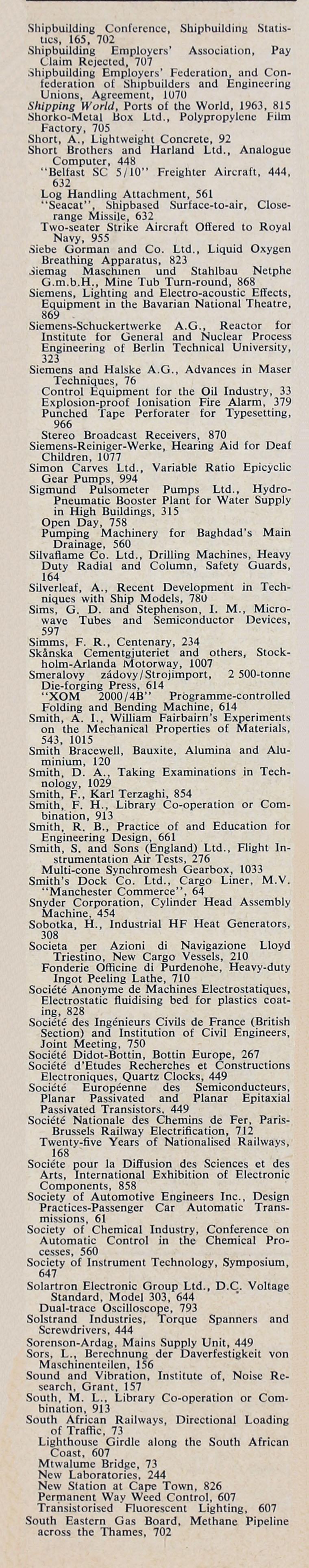 The Engineer 1963 Jul Dec Index # Modele Des Tables Pour Television Plasma En Fer Forge