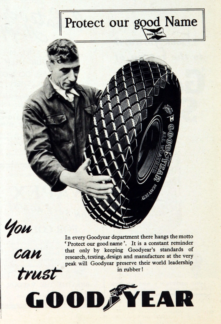 Goodyear Tyre And Rubber Co Graces Guide