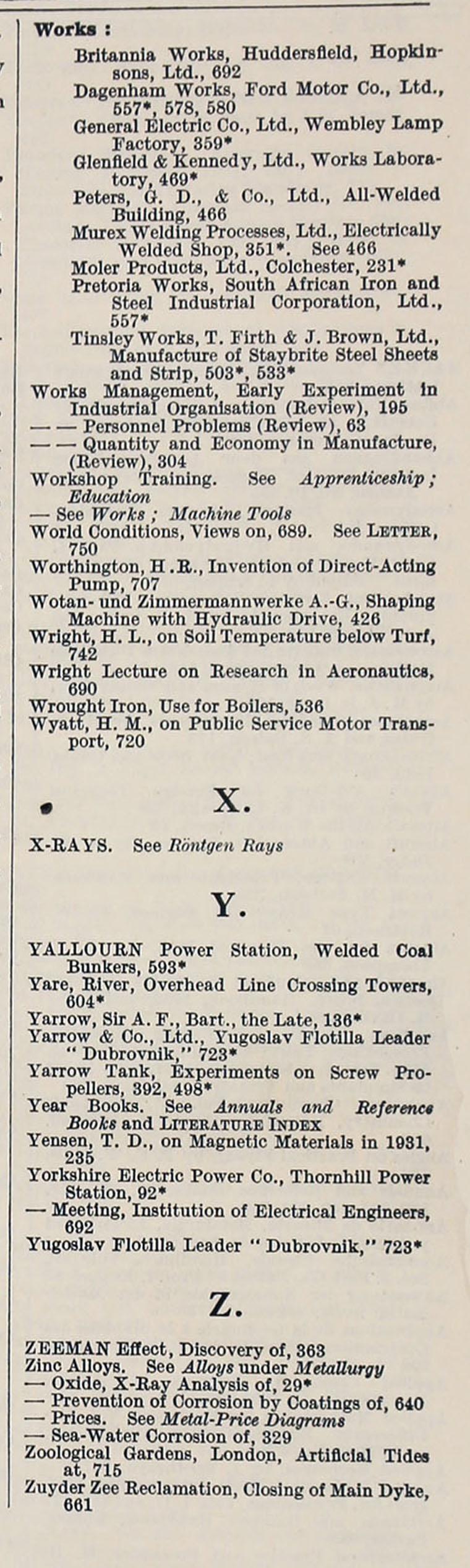 Engineering 1932 Jan Jun Index General 1865 Cub Tractor Wiring Diagram