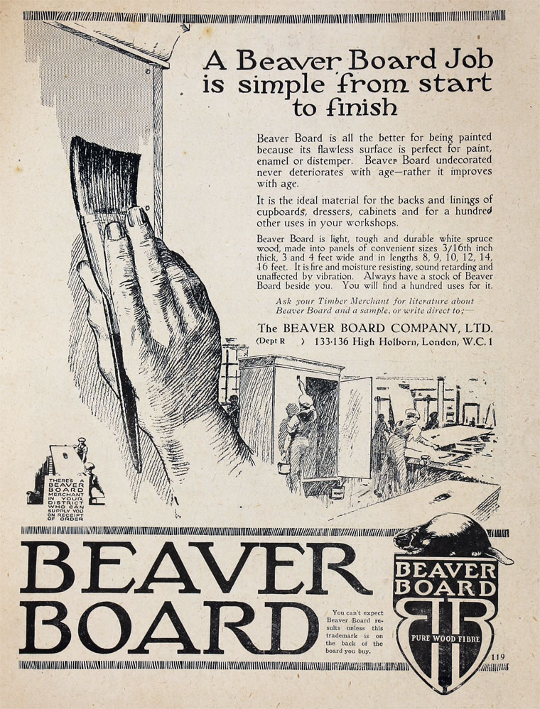 Beaver Board Co - Graces Guide