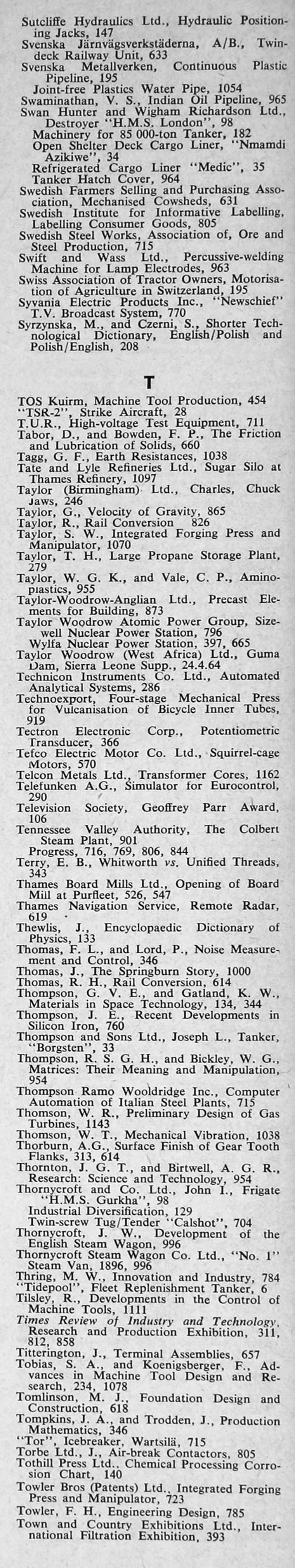 The engineer 1964 jan jun index the engineer 1964 jan jun index pooptronica