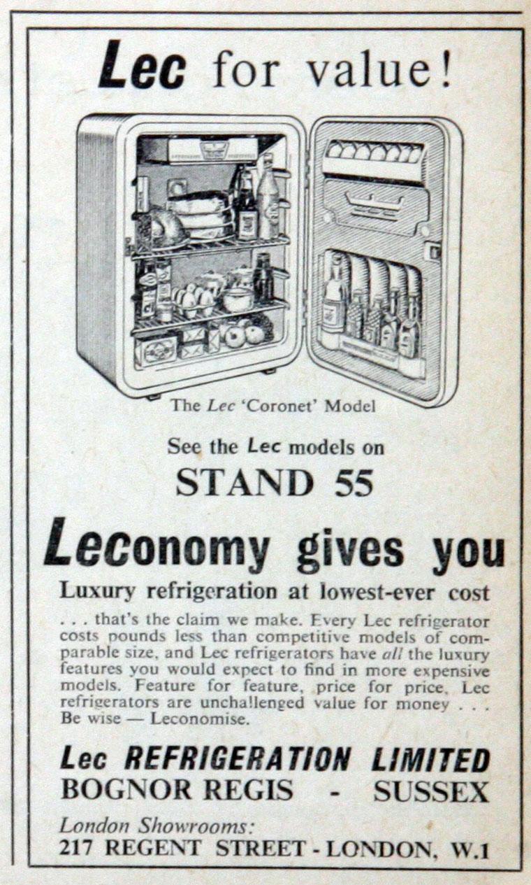 Lec Refrigeration - Graces Guide