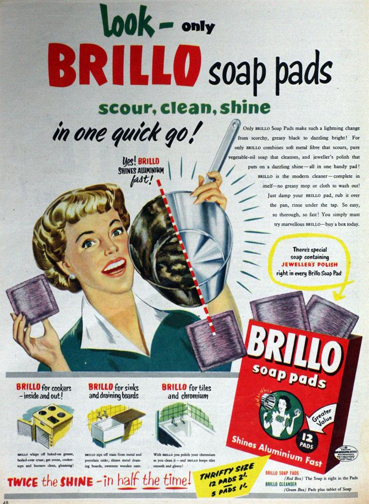 Brillo Pad - Graces Guide