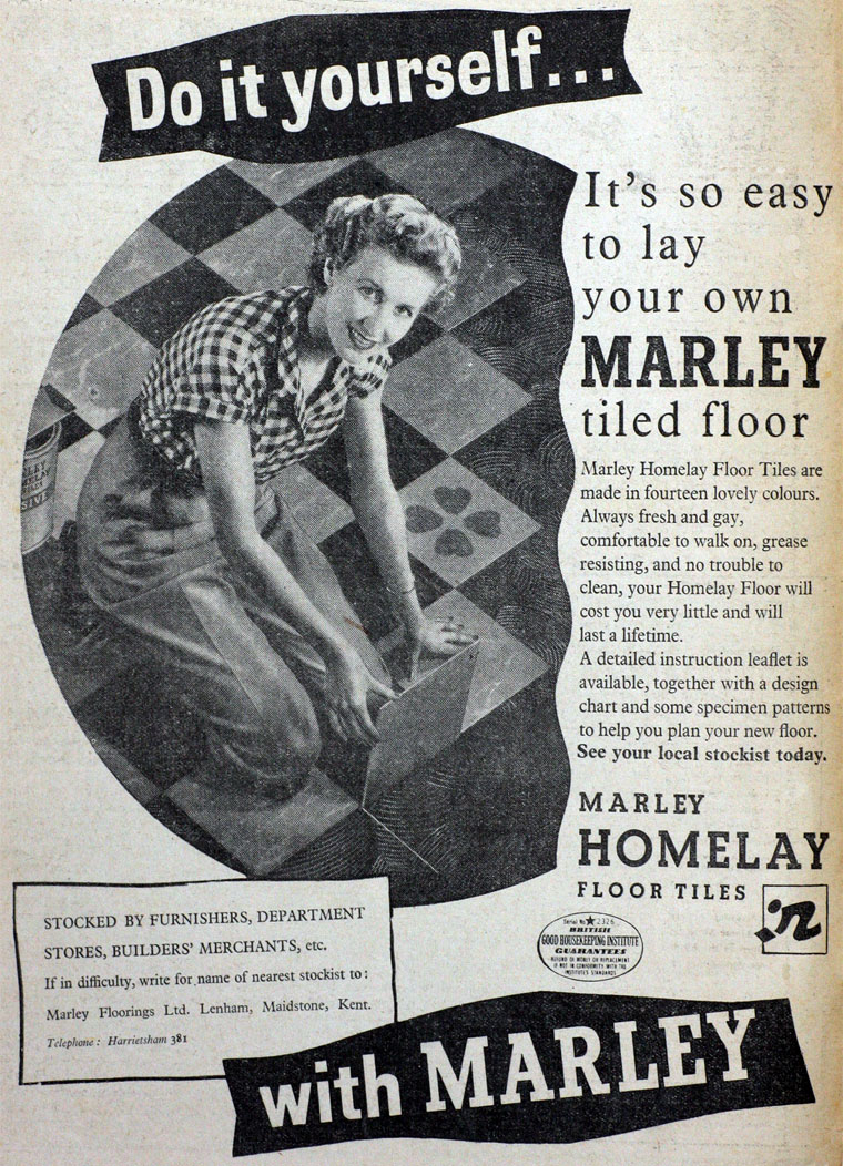 Marley tile co december 1955 dailygadgetfo Gallery