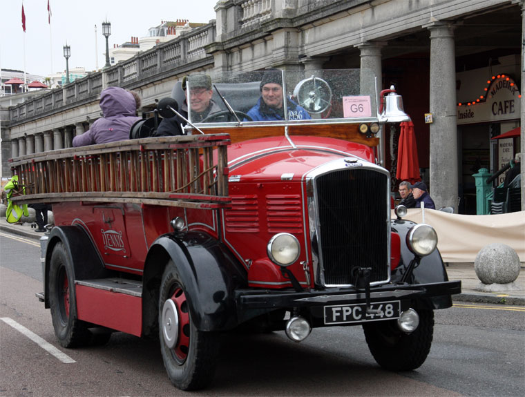 Dennis Brothers: Fire Engines - Graces Guide
