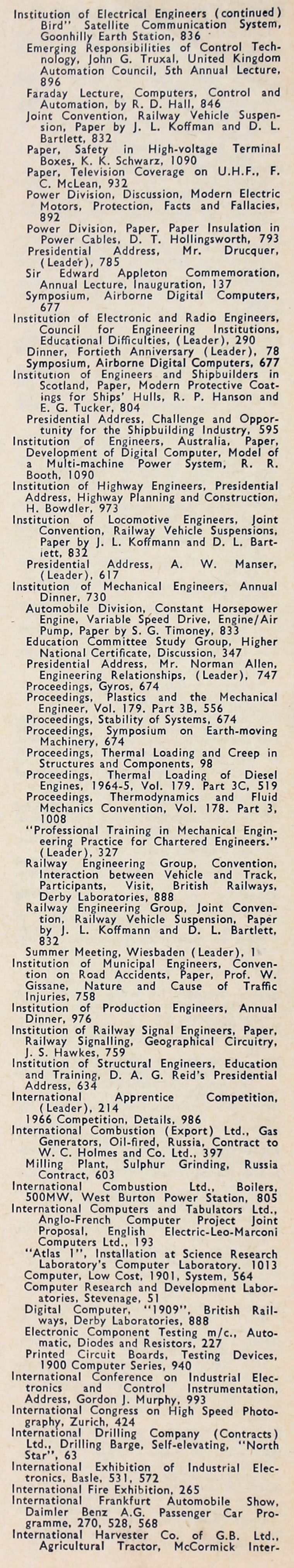 The Engineer 1965 Jul Dec Index Electronic Expansion Valve Controller Assemblyprinted Circuit Board