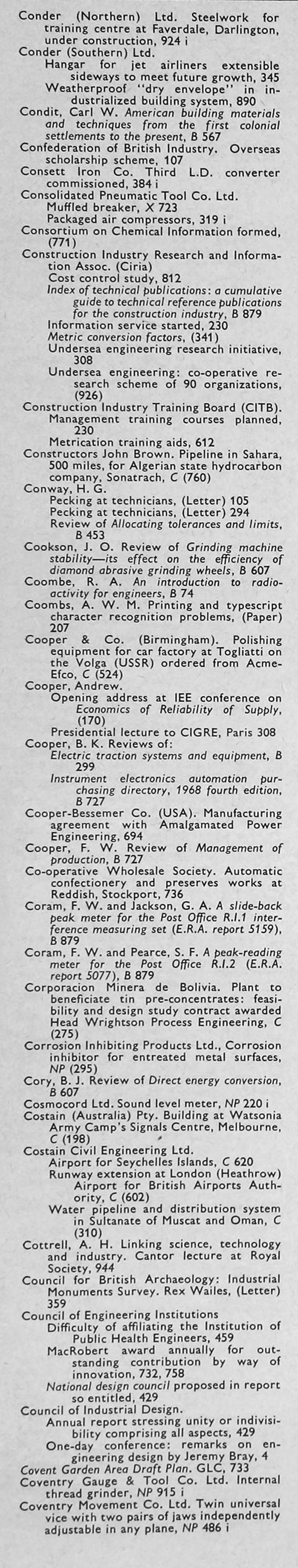 The Engineer 1968 Jul Dec Index 15 2009 808 Pm 1963 Circuitbreakeridentificationatjpg