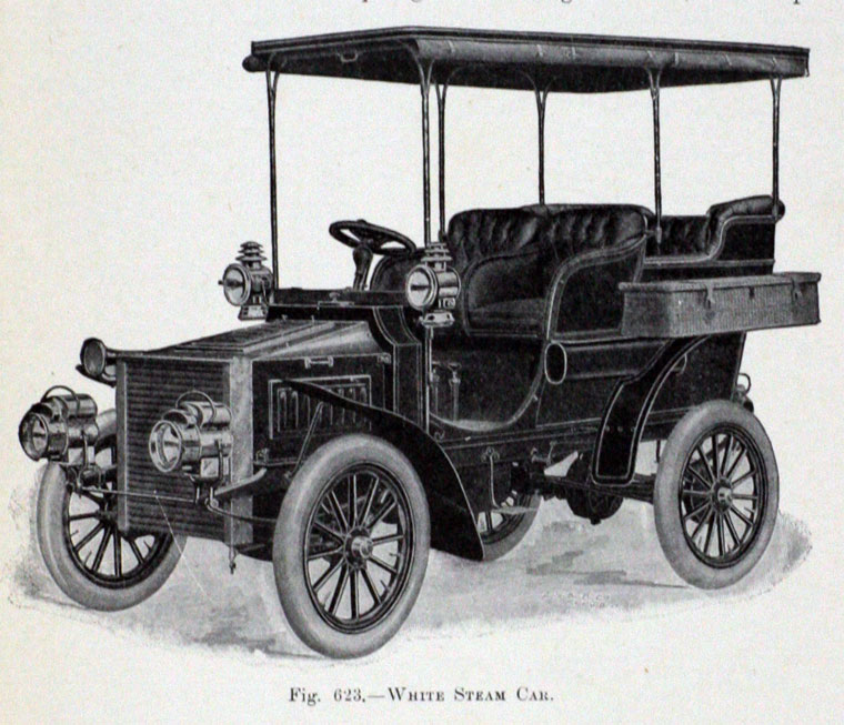 White Steam Cars