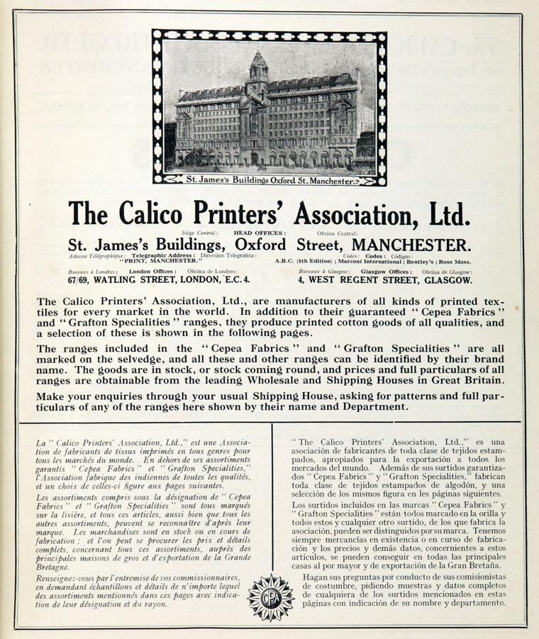 Calico Pronters