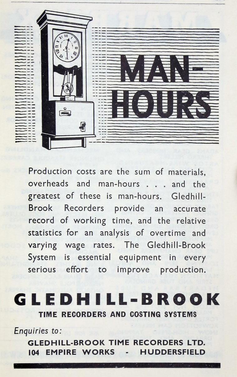 gledhill-brook time recorders