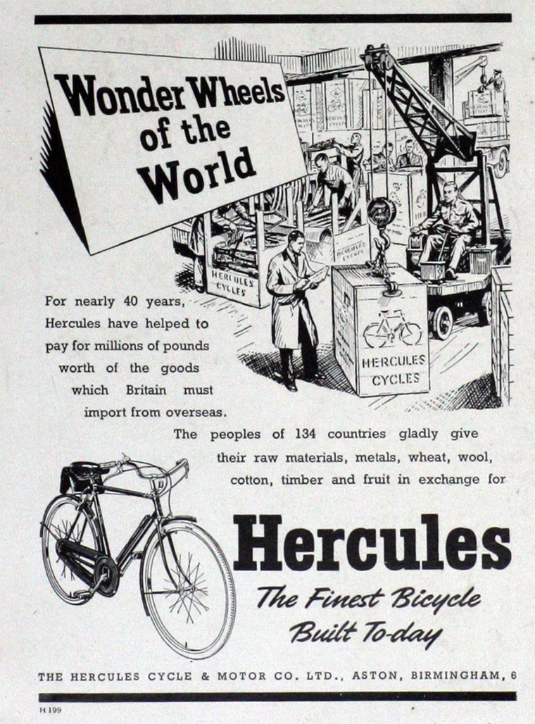 hercules cycle and motor co