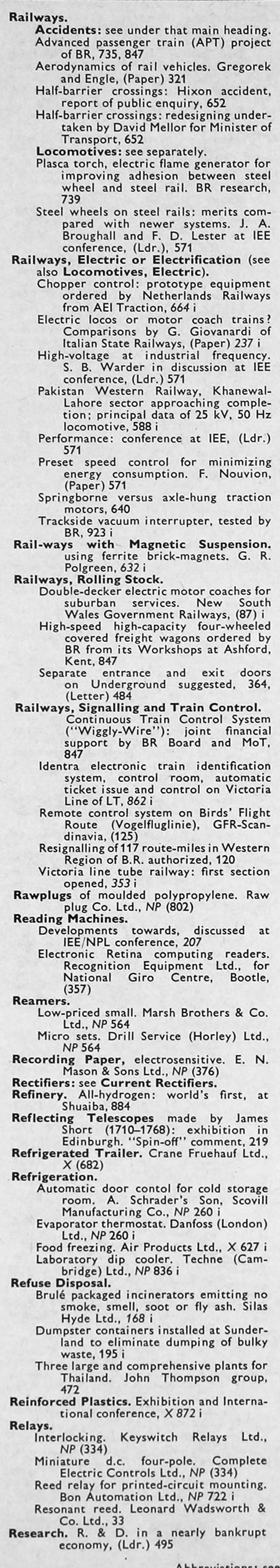 The Engineer 1968 Jul Dec Index Choppers Australia O View Topic Electrics And Relays
