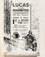 Sept 1927. Bicycling News and Motor Review.