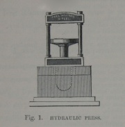 Fig 1. Hydraulic Press