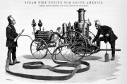 1892. Steam Fire Engine for South America.
