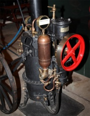 Valiant Steam Pump. Exhibit at the .