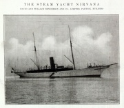 1904. The Steam Yacht Nirvana.