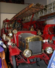 1928. Albion Merryweather Fire Engine. Exhibit at .