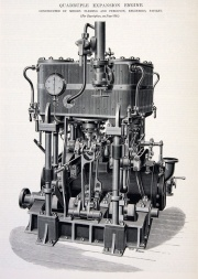 Quadruple Expansion Steam Engine http://www.gracesguide.co.uk/Fleming_and_Ferguson