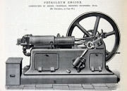 April 1888. Petroleum Engine.