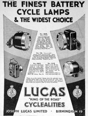 1 April 1936 Advert from Magazine.