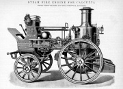 1893. Steam fire engine for Calcutta.