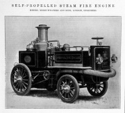 1903. Self propelled steam fire engine.